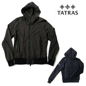 TATRAS タトラス SENARCO ジャージージップアップパーカー MTA20S8072 国内正規品|up-avanti