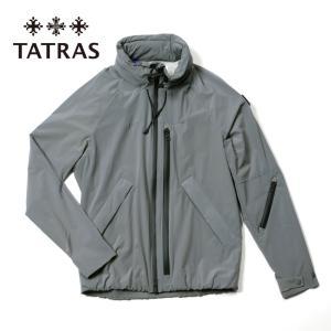 TATRAS タトラス EPIMETEO パッカブル ブルゾン ストレッチナイロン ジャケット MTLA21S4135-S 07グレー 国内正規品|up-avanti