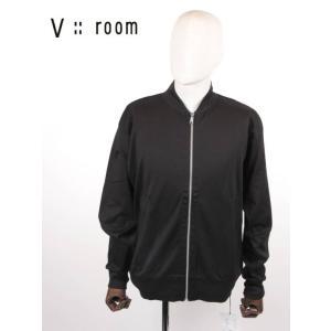 【国内正規品】V::room ヴイルーム ジップアップカーディガン シンプル MVB20A8004 BLACK ブラック|up-avanti