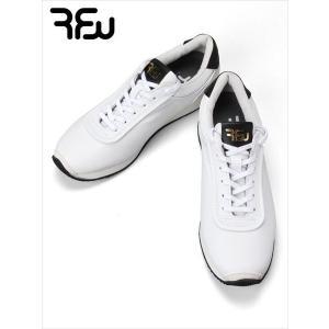 RFW アールエフダブリュー レザースニーカー ホワイト KOPPE LO LEATHER R-1837012 ビブラムソール 日本製 国内正規品 up-avanti