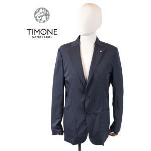 【国内正規品】 TIMONE ティモーネ カジナイロン 2B シングルテーラードジャケット ナイロン TM0107124 ミッドナイトネイビー|up-avanti