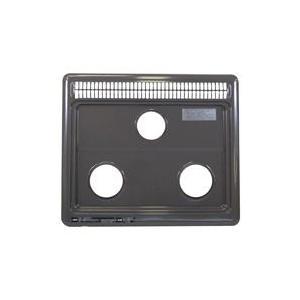 リンナイ 部品 【001-583-000】 トッププレート<ホーロー>※排気口カバーが一体型のタイプです。  純正部品 [新品]|up-b