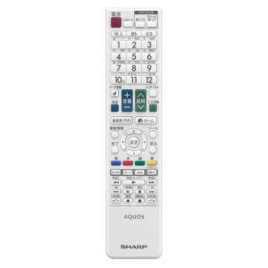 シャープ[SHARP] オプション・消耗品 【0106380440】 液晶テレビ用 リモコン<ホワイト系> (LC-32DR9-W LC-40DR9-W)[新品]