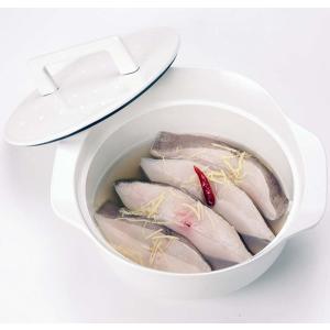 ノーリツ 純国産南部鉄器 ホーロー鍋 ホワイト (LP0122WH) HM 0705581 ハーマン>調理器具・お手入れ品 [新品]|up-b