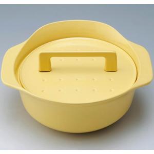 ノーリツ 純国産南部鉄器 ホーロー鍋 イエロー (LP0122YE) HM 0705582 ハーマン>調理器具・お手入れ品 [新品]|up-b