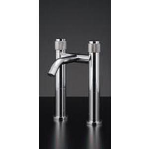 水道材料 KAKUDAI 2ハンドル混合栓(トールタイプ) 153-009[新品]|up-b