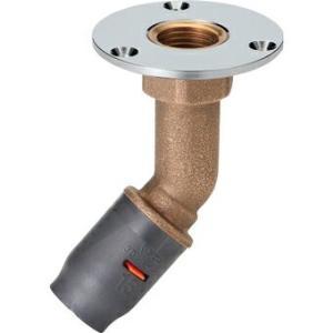 三栄水栓[SANEI]【3DJ-45FWS-13-RC1/2】45°床アダプター[新品] up-b