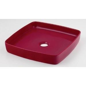 カクダイ 角型手洗器//ラズベリー【493-096-R】【493096r】[新品]【RCP】 up-b