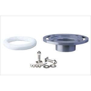 アキレス[Achilles] 排水管用継手(ジョイント) AF-75 大便器接続用 洋風大便器用床フランジ(特殊ABS樹脂製) VP・VU兼用 [新品]|up-b