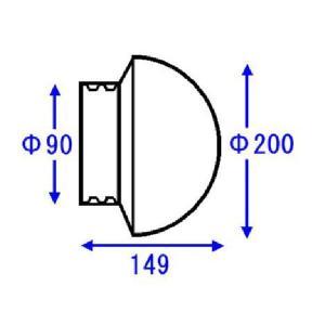 TOTO 浴室部品・補修品 照明器具 ワン型照明グローブ【AFKK024】[新品] up-b