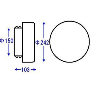 TOTO 浴室部品・補修品 照明器具 扁平丸型照明グローブ【AFKK026】[新品] up-b