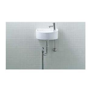 INAX LIXIL・リクシル トイレ用狭小手洗シリーズ 手洗タイプ(丸形) AWL-33(S) 壁給水・床排水[新品]|up-b