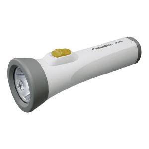 パナソニック Panasonic エボルタ付きLEDライト(単1電池2本使用) BF-158BK-W|up-b