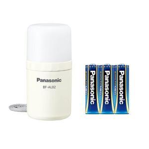パナソニック Panasonic 乾電池エボルタNEO付き LEDランタン BF-AL02K-W|up-b