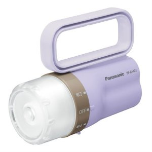 パナソニック Panasonic LED懐中電灯 電池がどっちかライト BF-BM01-LV ラベンダー|up-b