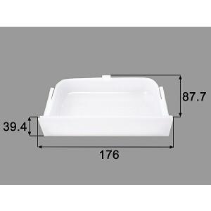 INAX/LIXIL 水まわり部品 ミラー内部用トレイ[BM-MDA-225] 外寸法 幅176MM 高さ39.4MM 奥行き87.7MM トイレ BM-MDA-225 up-b