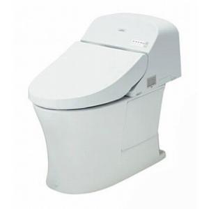 TOTO パブリック向け ウォシュレット  一体形便器 一般地 乾電池リモコン 給水:壁床共通 排水:壁 排水心:120mm【CES956P】|up-b