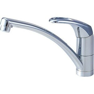 三栄水栓[SANEI]【CK876TJV-13】シングルワンホール混合栓[新品]|up-b