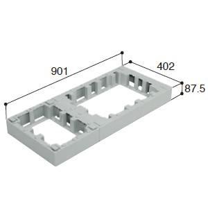 城東テクノ ハウスステップ オプション部品 CUB-6040-H1 ハウスステップアジャスター 1段 [新品]|up-b