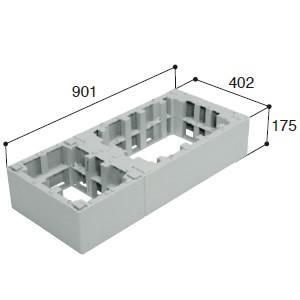 城東テクノ ハウスステップ オプション部品 CUB-6040-H2 ハウスステップアジャスター 2段 [新品]|up-b