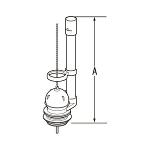INAX LIXIL・リクシル トイレ 排水弁 フロート弁 DTF811C[新品]|up-b