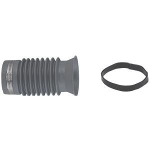 M2M[エムツーエム] e-Joint[イージョイント] 【ECI-7520Y】 排水鋳鉄管(L型) 改修工事用 軟質塩ビ製:グレー [新品]|up-b