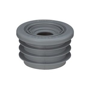 M2M[エムツーエム] e-Joint[イージョイント] 【EL50-25・32】 洗面器、手洗い、トラップ用(2トラップ兼用、VP・VU兼用) 特殊ブレンドゴム製:グレー [新品]|up-b