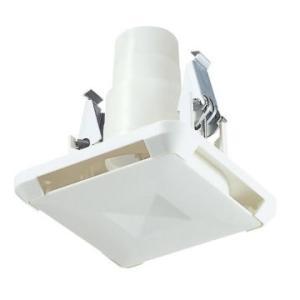 MAX[マックス株式会社] 換気関連部材 ES-50KSW3 角型給気グリル ストレート・直 風量調節機能付 色:白 [JD90078]換気扇|up-b
