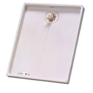 シナネン[SINANEN] 洗濯機防水パン ESB-8064I 環境にやさしい新素材「コンポレジン」による抗菌ゼオミック防水パン ESB8064I [新品]|up-b