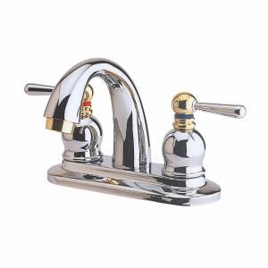 リラインス オリジナル水栓金具 3穴型2バルブ洗面用混合栓【FC3000】単品|up-b