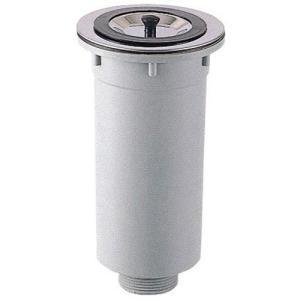 三栄水栓[SANEI] キッチン用品 流し排水栓 カゴ付流し排水栓 【H65】[新品]|up-b