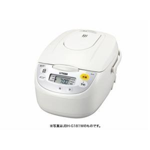 タイガー  マイコン炊飯ジャー <炊きたて>5.5合 JBH-G181W ホワイト【JBH-G181W】[納期14日前後][新品]|up-b