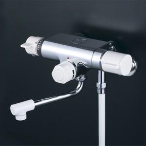 KVK ケーブイケー 定量止水付サーモスタット式シャワー(170mmパイプ付)【KF159】|up-b