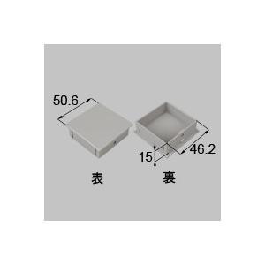 LIXIL リクシル トステム 格子小口キャップ 50×50[新品]|up-b
