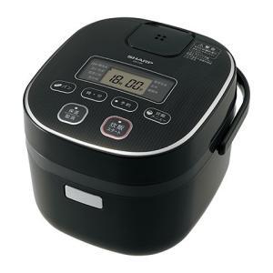 シャープ[SHARP] オプション・消耗品 【KS-C5K-B】 ジャー炊飯器 0.54L(0.5合〜3合) カラー:-Bブラック系 [新品]|up-b