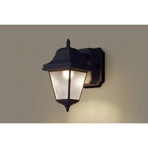 パナソニック 照明 壁直付型 LED(電球色) ポーチライト 60形電球1灯相当・密閉型・拡散タイプ 防雨型 【LGW80230LE1】|up-b