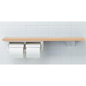 INAX/イナックス/LIXIL/リクシル NKF-2WU2 木製手すり(紙巻器/トイレットペーパーホルダー付) 棚手すり(棚タイプ・左右共通) アクセサリー NKF2WU2[新品]|up-b