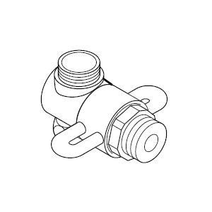 ナニワ製作所 分岐水栓 NS-F4 共通タイプ NSF4[新品]|up-b