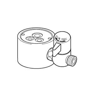 ナニワ製作所 分岐水栓 NSJ-SGB7 対応メーカー:GROE グローエ NSJSGB7[新品]|up-b