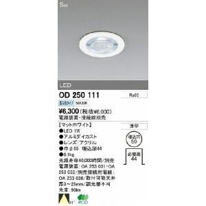 オーデリック 店舗・施設用 ダウンライト 【OD 250 111】 OD250111|up-b