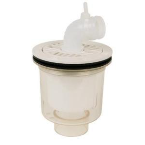 テクノテック[TECHNOTECH] 防水パン用排水トラップ PDT-SW (本体透明・タテ引) T.Tトラップ [新品]|up-b