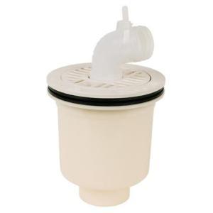 テクノテック[TECHNOTECH] 防水パン用排水トラップ PDT-W (本体有色・タテ引) T.Tトラップ [新品]|up-b