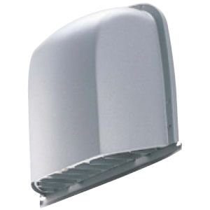 大建工業 換気扇 排気用フード11型(逆流防止シャッター付)【SB0408-14】〈カームブラック〉 24時間換気システム エアスマート 全室換気タイプ|up-b