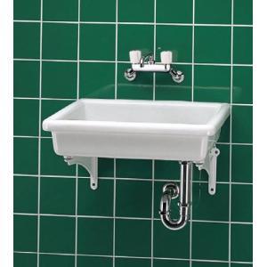 TOTO 陶器製流し SK7 TK18P 壁排水金具(Pトラップ)セット 特定施設用器具[新品]|up-b