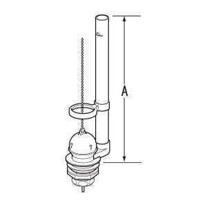 INAX LIXIL・リクシル トイレ 排水弁 フロート弁 TF875C(275)32[新品]|up-b