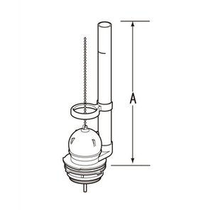 INAX LIXIL・リクシル トイレ 排水弁 フロート弁 TF889C[新品]|up-b