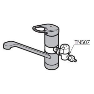 TOTO キッチン用水栓金具 TN507 アルカリ本体分岐金具(イオン水生成器用)[蛇口][新品]|up-b