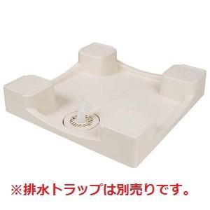 テクノテック[TECHNOTECH] 洗濯機用防水パン TPD640 (640×640×120) イージーパン アイボリーホワイト [新品]|up-b