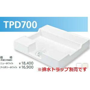 テクノテック[TECHNOTECH] 洗濯機用防水パン TPD700 (700×640×120) イージーパン ニューホワイト [新品]|up-b