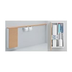 TOTO フロア収納キャビネット UYC04RS/UYC04LS ワイドタイプ(1600mmフリーカット対応) 埋込タイプ トイレ周辺収納 [新品]|up-b